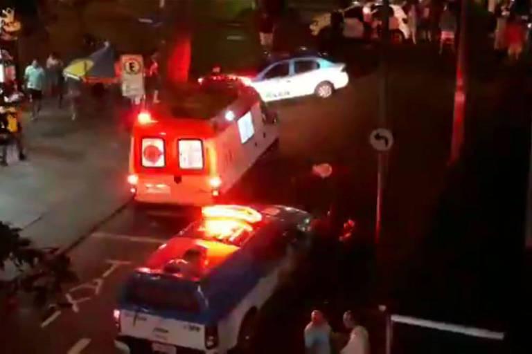 Duas pessoas morreram e uma ferida a tiros em reduto boêmio no bairro de Laranjeiras, no Rio
