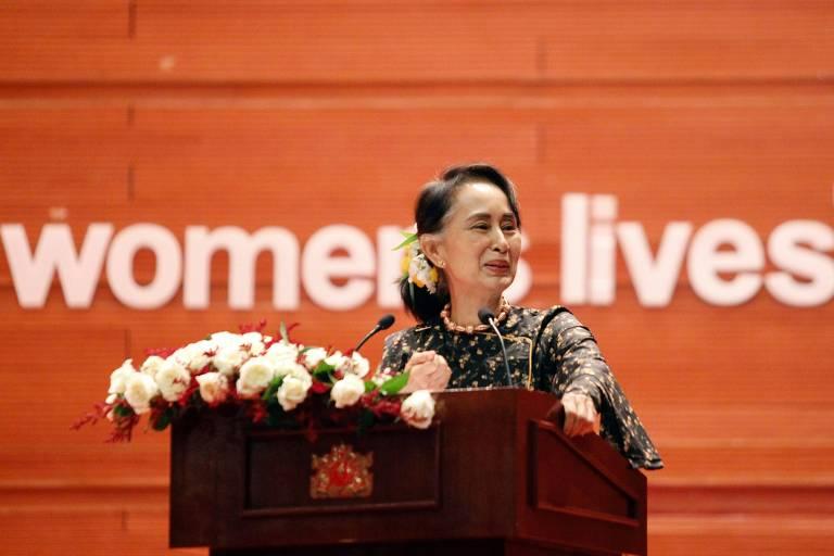 Museu do Holocausto americano retira prêmio dadoa líder de Mianmar