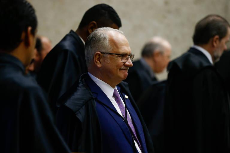 O ministro Edson Fachin, do Supremo Tribunal Federal, relator da Lava Jato