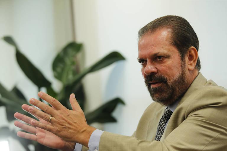 Reinaldo Carneiro Bastos, presidente da Federação Paulista de Futebol