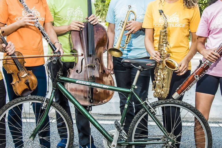 Evento Ciclovia Musical une pedalada e shows gratuitos no centro de São Paulo