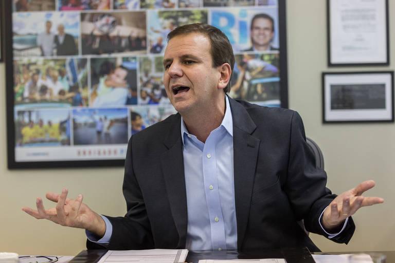 O ex-prefeito Eduardo Paes (DEM) está empatado com Romário (Podemos) na disputa pelo governo do Rio de Janeiro, segundo o Datafolha