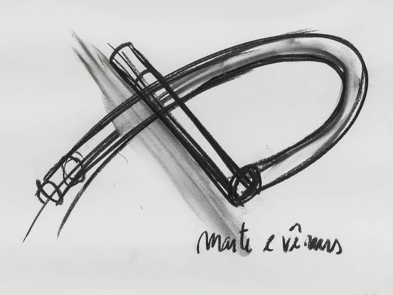 desenho em preto