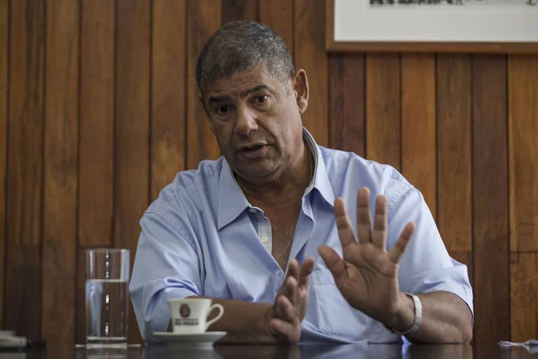 O presidente da Câmara Municipal de São Paulo Milton Leite (DEM)