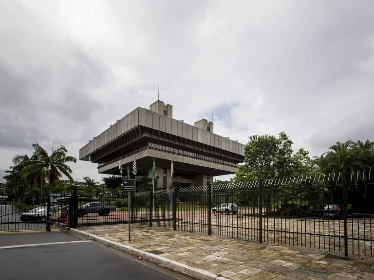 Prédio do Tribunal de Contas da cidade de São Paulo, na zona sul