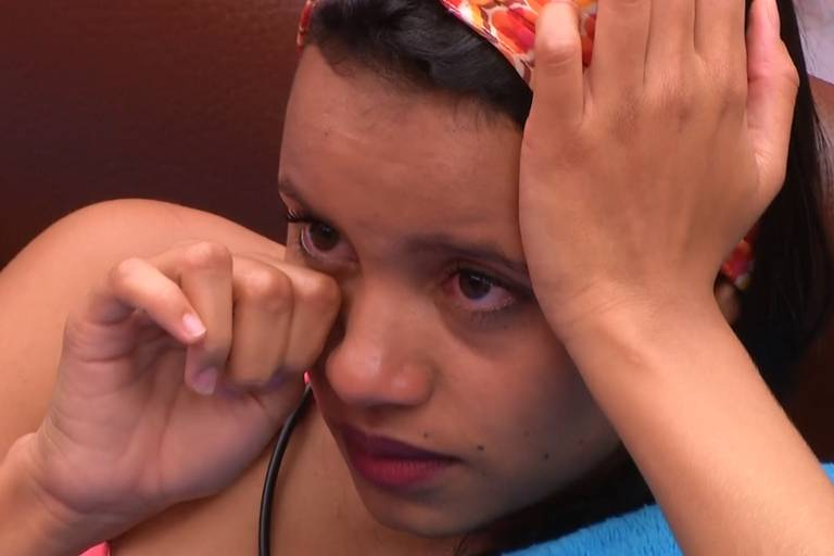 Gleici chora no quarto secreto do BBB 18 (Globo)