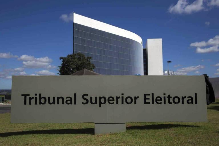 Prédio do Tribunal Superior Eleitoral. em Brasilia