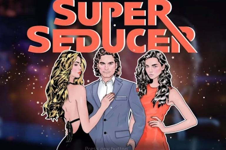 """O jogo Super Seducer tem como principal objetivo """"ensinar a arte da sedução"""" para homens"""
