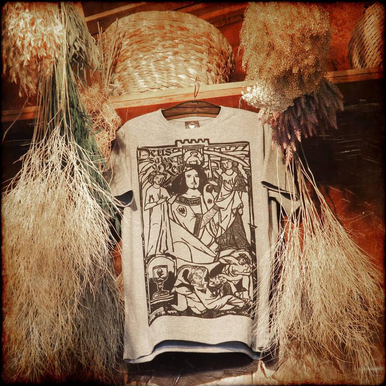 Camisetas 'Deus Salve o Rei' da Cavalera