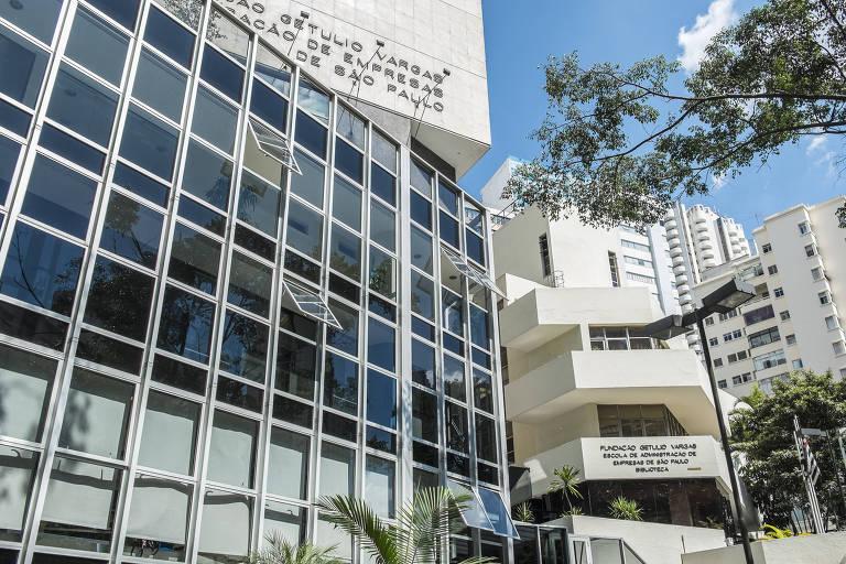 Prédio da Fundação Getúlio Vargas em São Paulo