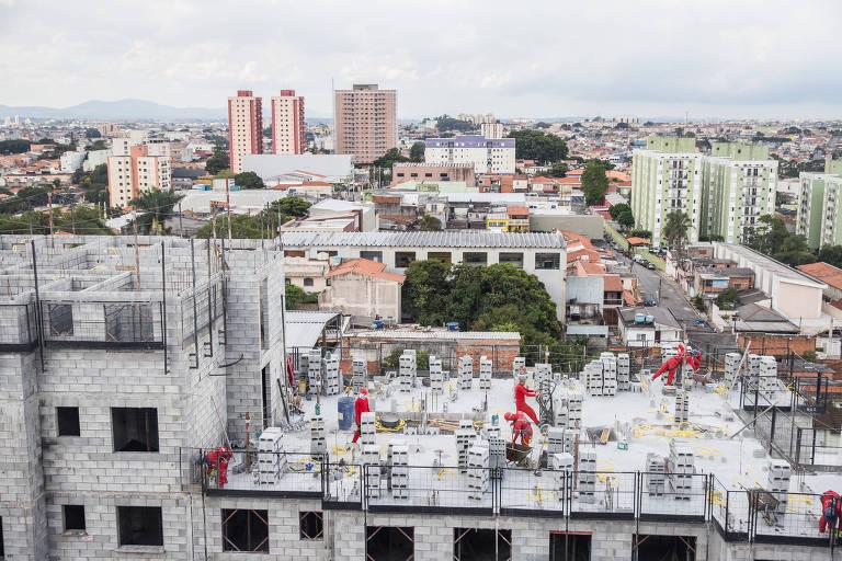 Vista do prédio Plano & Itaquera, da Plano