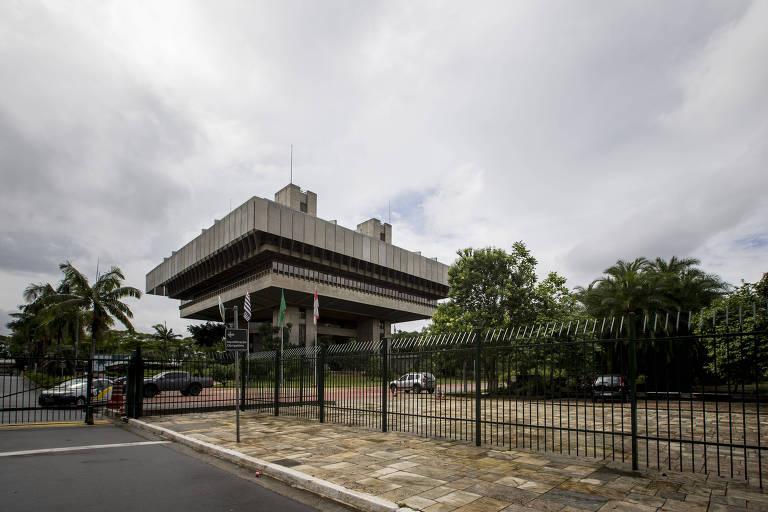 Prédio onde funciona o TCM (Tribunal de Contas do Município), na zona sul de São Paulo