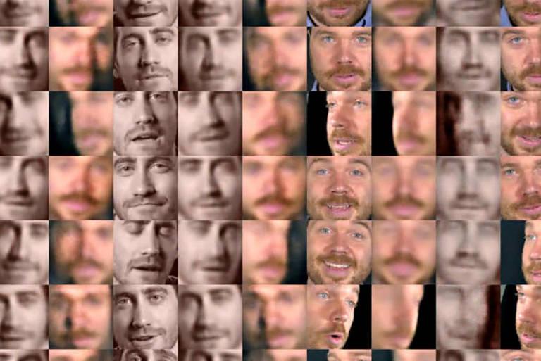 Captura de tela do FakeApp, programa que permite adulterar imagens de forma realística