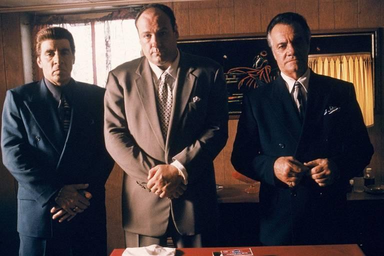 """Cena da série """"Família Soprano"""""""