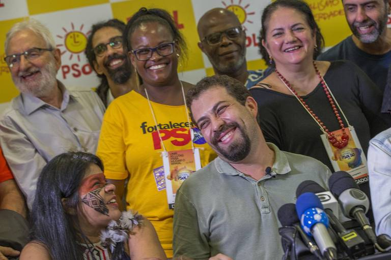 PSOL lança pré-candidatura de Boulos