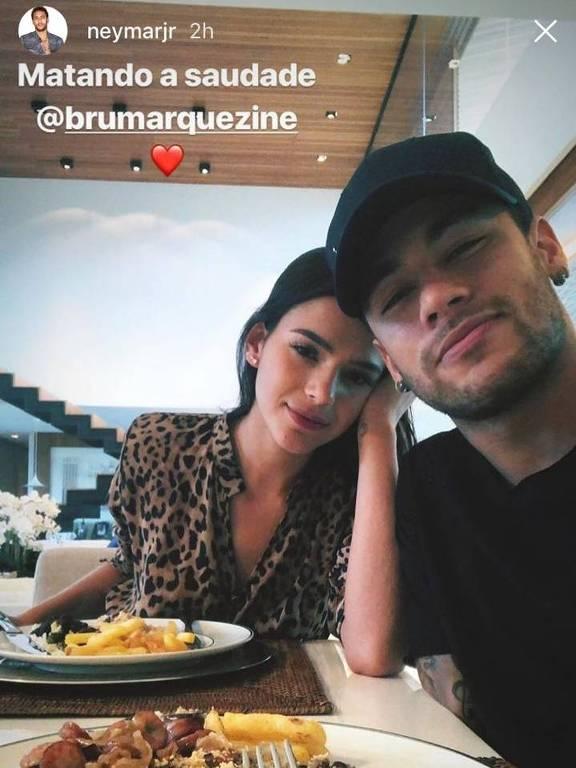 Neymar e Bruna Marquezine