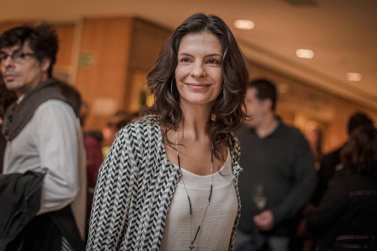 A atriz Helena Ranaldi