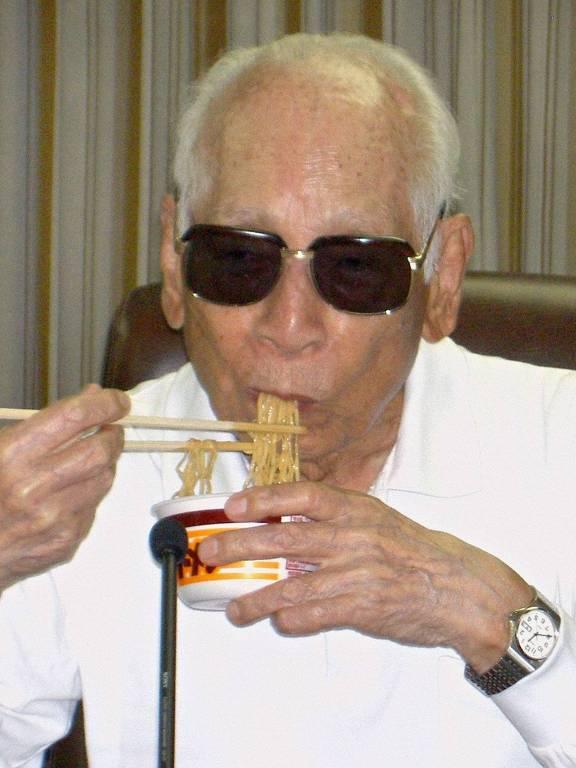 Momofuku Ando, criador do macarrão instantâneo