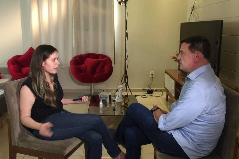 Roberto Cabrini entrevista Lidiane Leite, a ex-prefeita de Bom Jardim (MA)