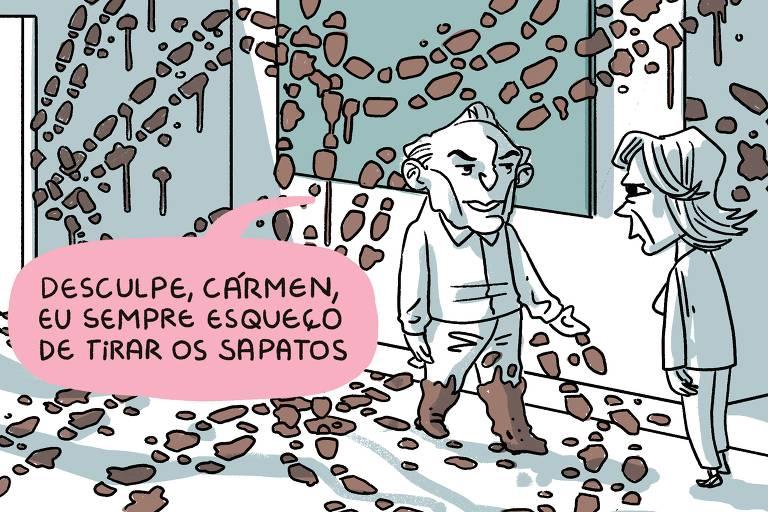 Charge de João Montanaro, publicada no último dia 12