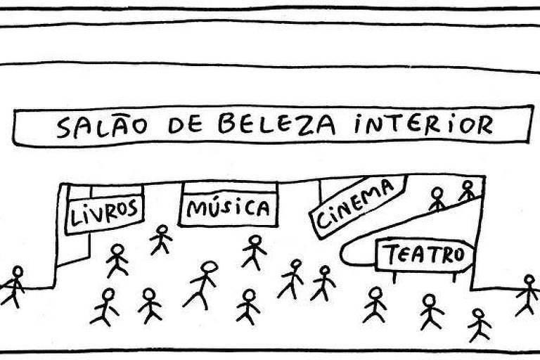 Tirinha A Vida Como Ela Yeah, de Adão Iturrusgarai, publicada em 10 de março