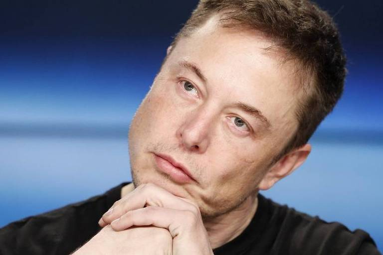 Retrato de Elon Musk
