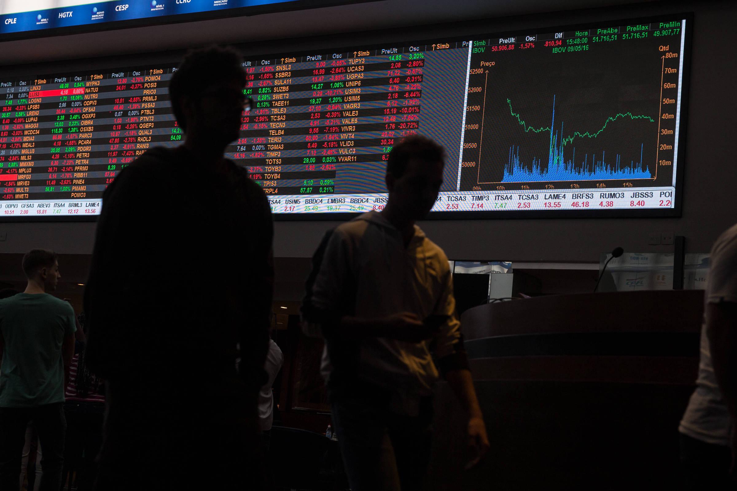 Bolsa tem segunda semana seguida de queda pela primeira vez desde setembro