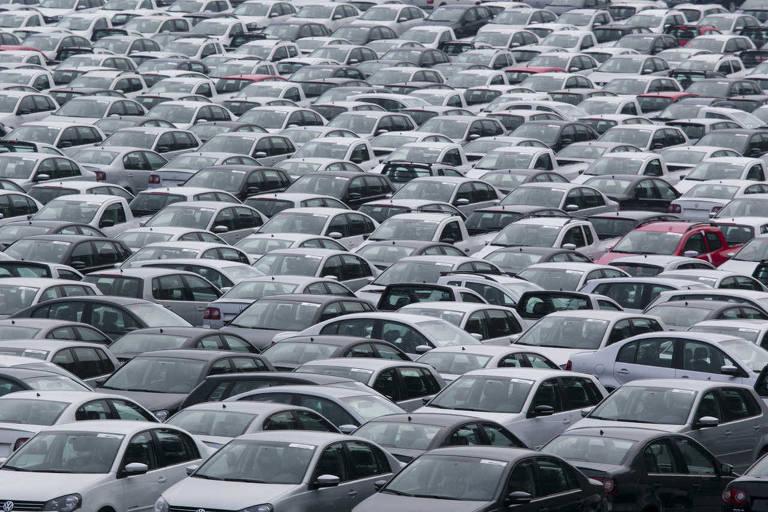Patio da Volkswagen, em São Bernardo do Campo
