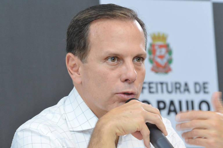 O governador João Doria