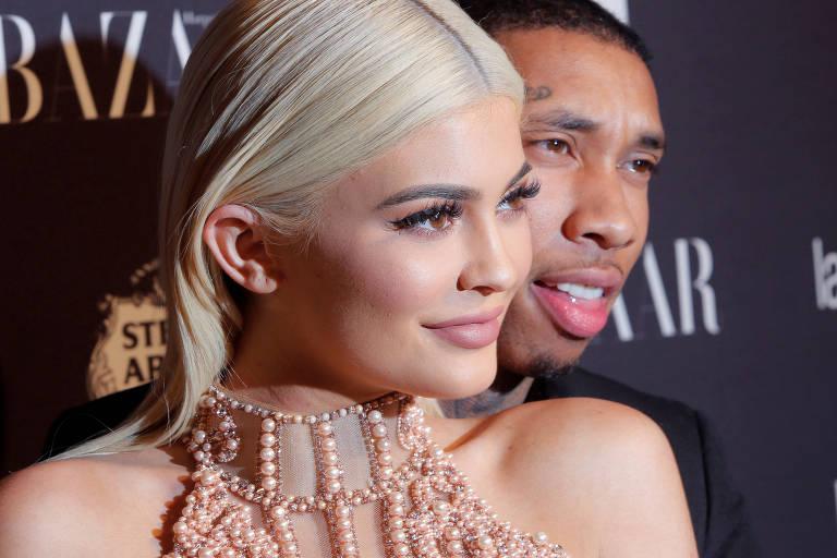 Kylie Jenner e Tyga em 2016