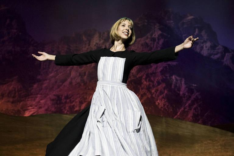 """Montagem de """"A Noviça Rebelde"""" no Teatro Alfa, em 2009"""