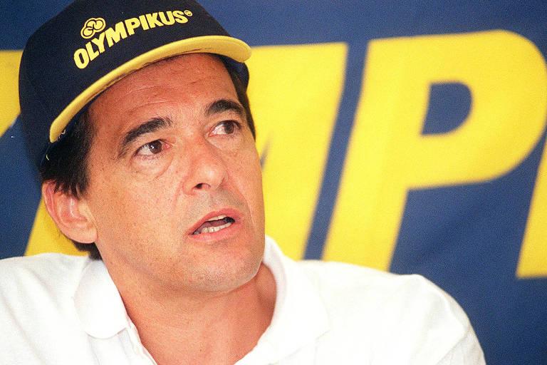 Bebeto de Freitas, técnico da equipe de vôlei Olympikus