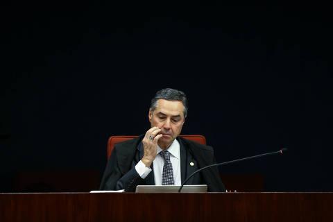 Barroso diz que Gilmar tem 'pitadas de psicopatia' e sessão do STF é suspensa