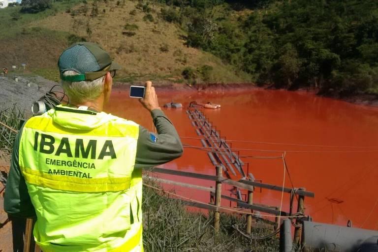 Vazamento em mineroduto em MG