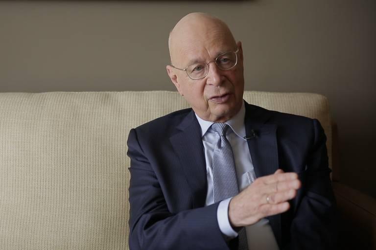 Klaus Schwab, criador do Fórum Econômico Mundial