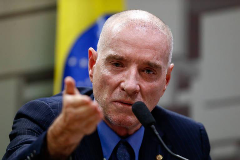 Empresário Eike Batista em depoimento na CPI do BNDES, no Senado