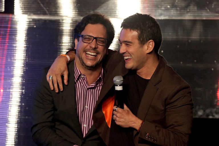 Lucio Mauro Filho e Marcos Veras no Prêmio do Humor 2018