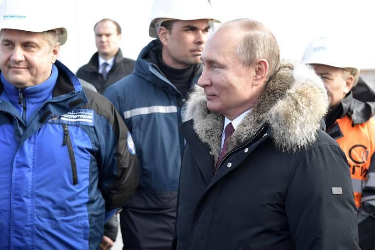 Resposta da Rússia não altera