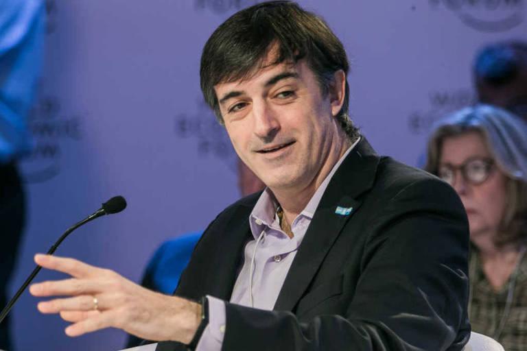 O senador argentino Esteban Bullrich