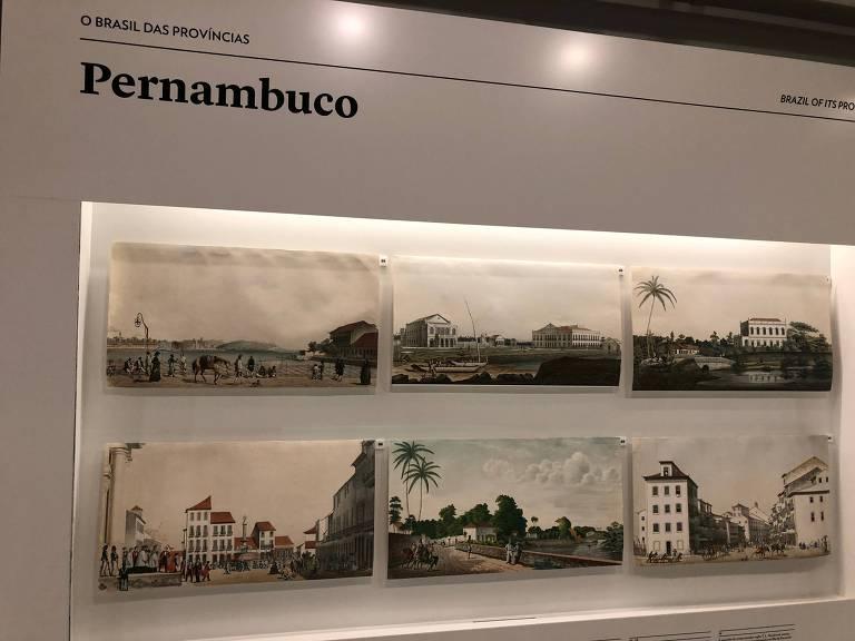 As gravuras de Emil Bauch ainda expostas na Brasilianas do Itaú Cultural, na semana passada