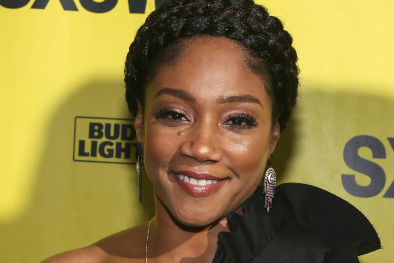 "Tiffany Haddish na estreia de ""The Last O.G."" no Southwest Film Festival em Austin, Texas"