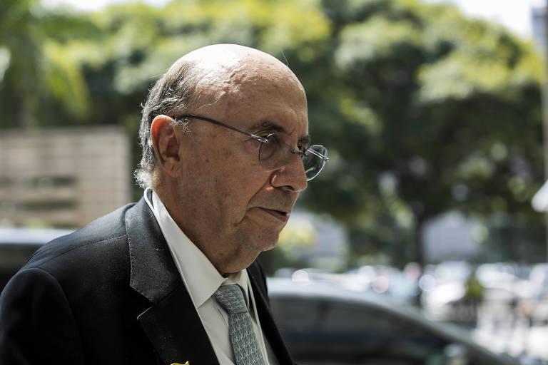 O Ministro da Fazenda Henrique Meirelles