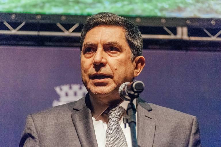Luiz Carlos Trabuco, presidente do conselho de administração do Bradesco; ele diz que juros baixos ajudaram na gestão de risco do banco