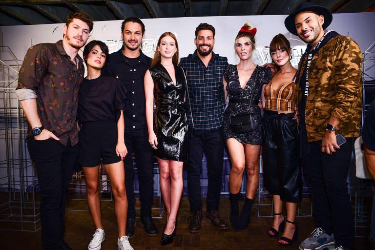 Lançamento da revista Vogue