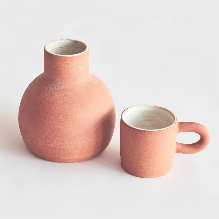 Moringa Terra, de cerâmica. R$ 199, da Noni SP | nonisaopaulo.com