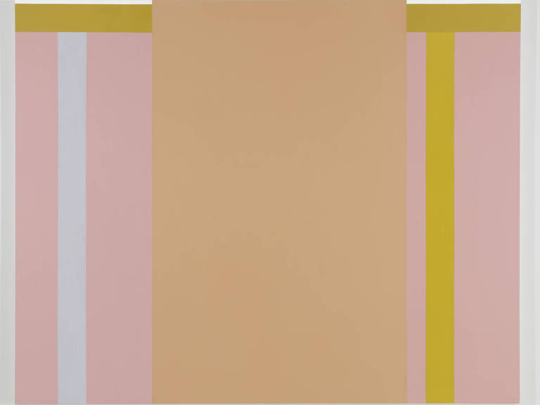 """Pintura """"O Dia"""" (2012), de Paulo Pasta, em exibição no Tomie Ohtake"""