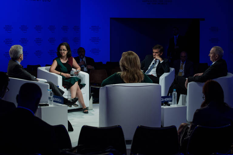 Fórum Econômico Mundial - 1º Dia