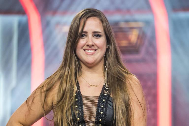 Patrícia, sétima eliminada do BBB 18 (Globo)