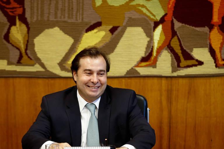 O presidente da Câmara, deputado federal Rodrigo Maia (DEM)