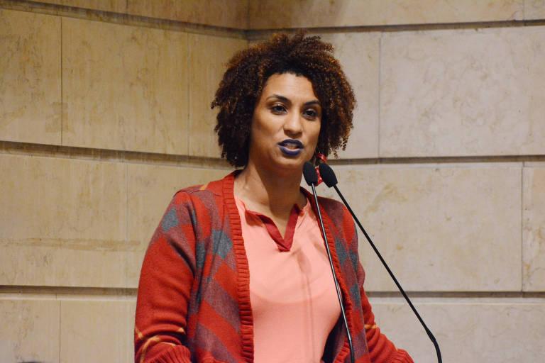 A vereadora Marielle Franco (Psol), morta a tiros na zona norte do Rio na noite desta quarta (14)